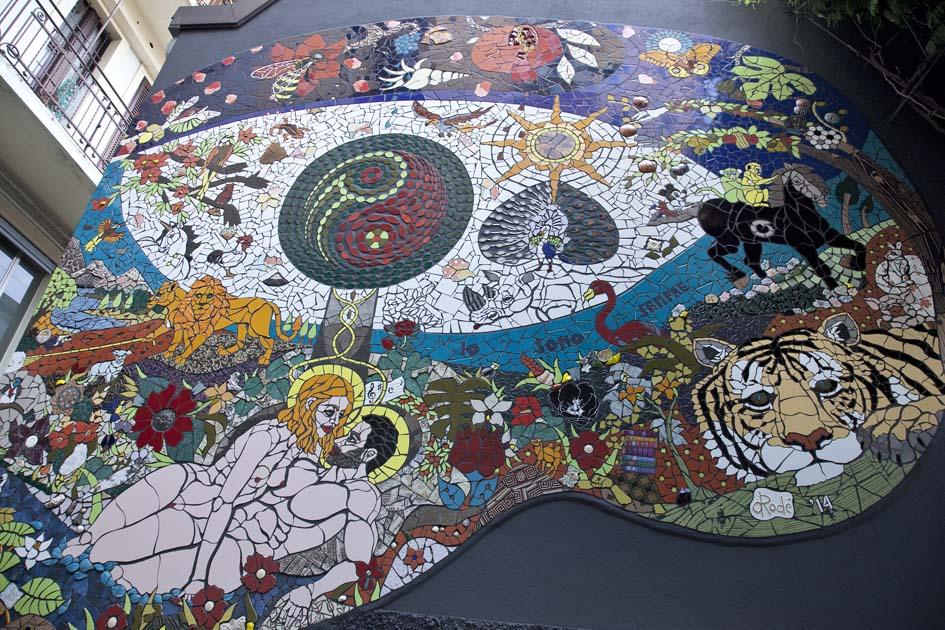 Mosaico di Orodè Deoro