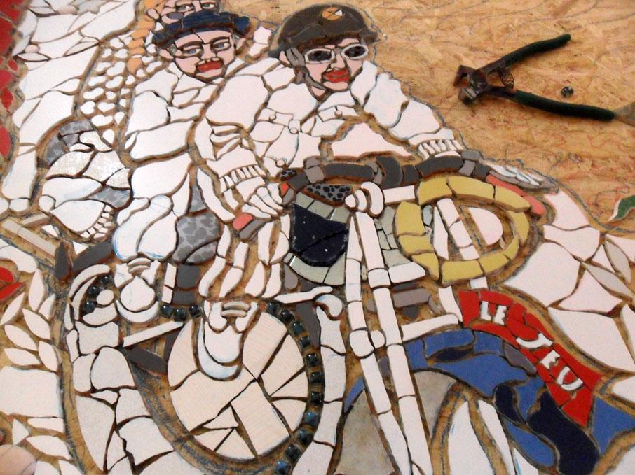 Mosaico contemporaneo: Orodè Deoro