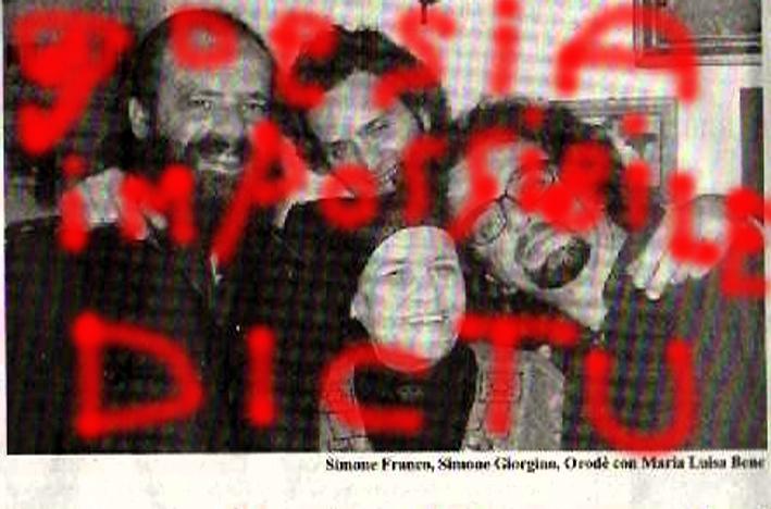 il Paese Nuovo, 21 aprile 2010. A casa di Carmelo Bene, con sua sorella Maria Luisa