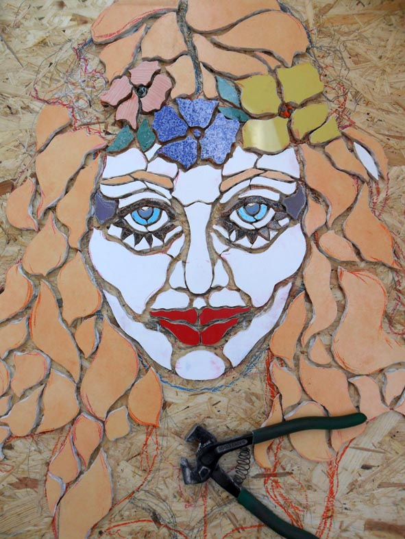 Mosaico. orodè Deoro. Work in progress 2014