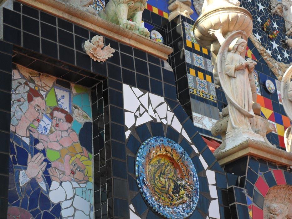 36- Madonna con Bambino e San Giovannino. M 0,6x1. 2004