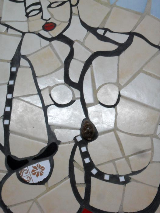 39- I sandali della burattinaia, particolare