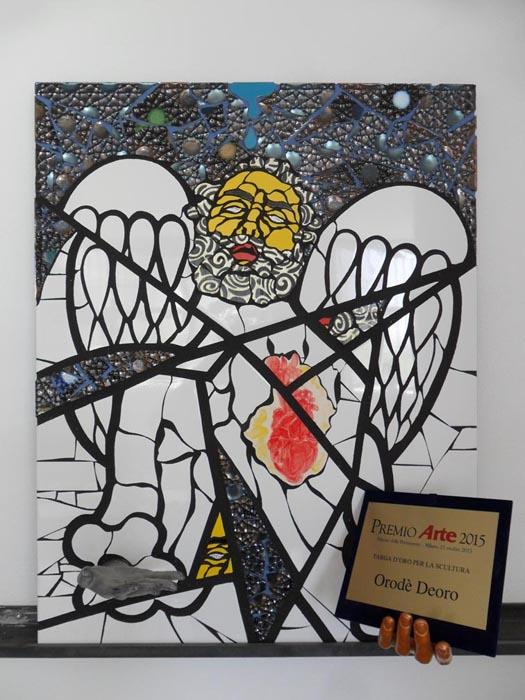 Vendesi Targa d'Oro Premio Arte 2015. In buone condizioni. Cm 70x90. 2016
